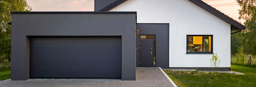 atouts des portes de garage sectionnelles